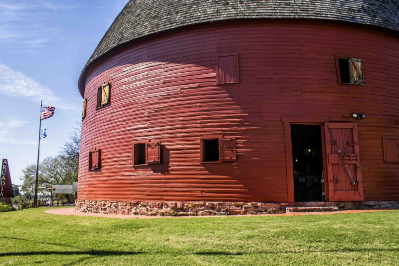 1 45 pm Arcadia Round Barn