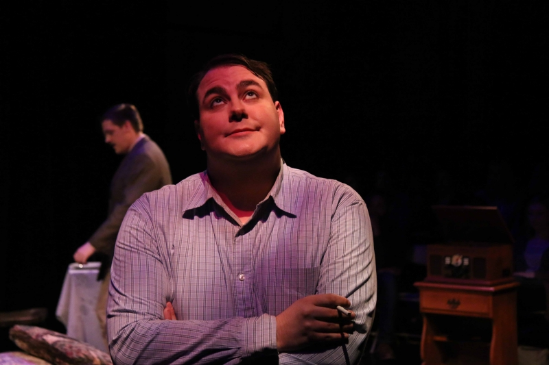 Kyle Yount playing Tom Wingfield. Photo by Rahul Chakraborty