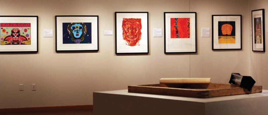 Featured serigraphs from Latino artists