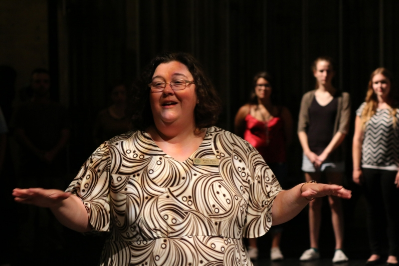 USAO Theater Professor Katie Davis