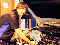 College student wins automotive contest