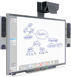 SMART Tech Inc. displays revolutionary SMART board during math conference