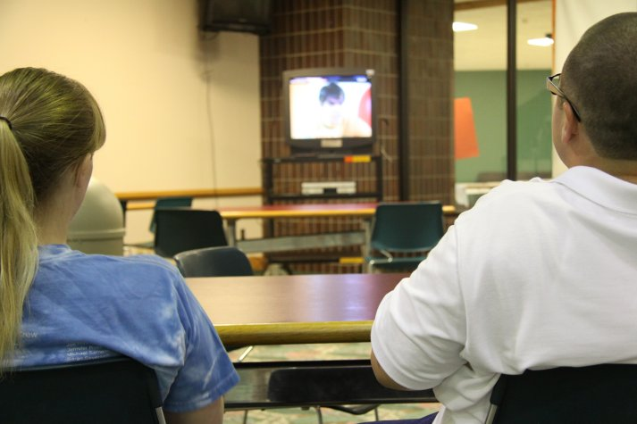 Students enjoy World Cup screenings in the College Union