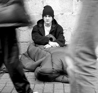 Homeless student struggles for education