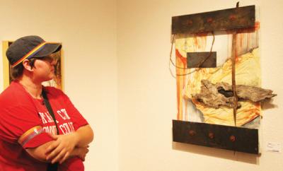 OCCC Art Gallery Exhibits Oklahoma Watermedia Association art showcase