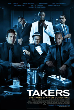 'Takers' delivers twist and turns