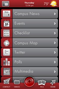 iPhone app links students to OCCC campus