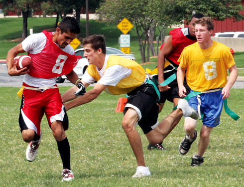 Flag football season gets under way