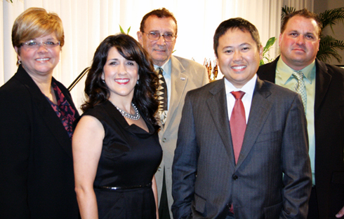 Five alumni inducted into Hall of Fame