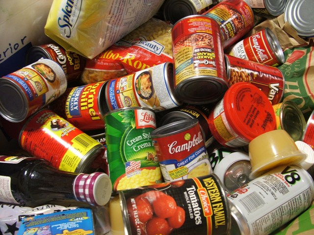 Campus club participates in nationwide food drive