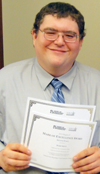 Student receives two journalism awards
