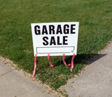 Garage sale, silent auction benefits students