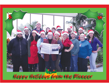 Pioneer staff share holiday thoughts