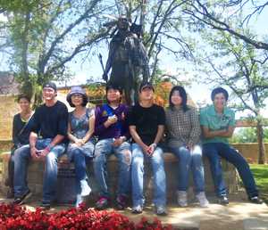 ESL students visit Oklahoma's historical sites