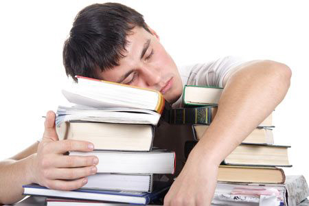 Students suffer from test anxiety