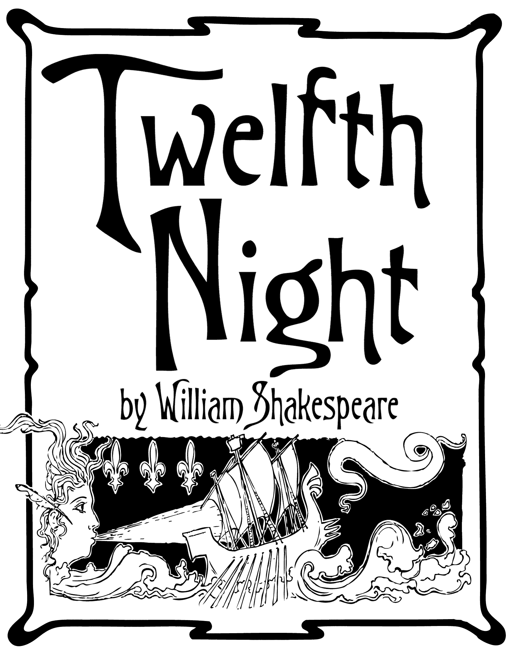"""Auditions for """"Twelfth Night"""" Aug. 21 and 22"""