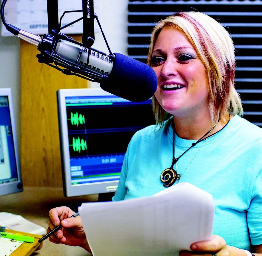 OCCC graduate lands dream job in radio broadcasting