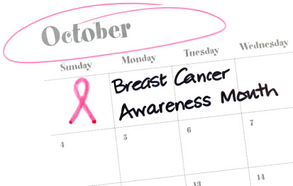 October brings breast cancer awareness