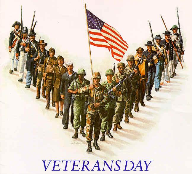 Veterans Day ceremony on campus Nov. 8
