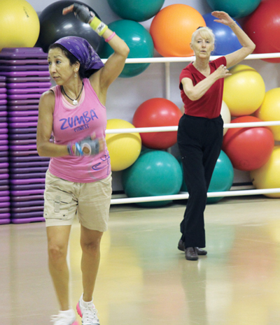 Downtown College offers Pilates and Zumba demonstrations