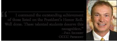 Student's make President's honor roll