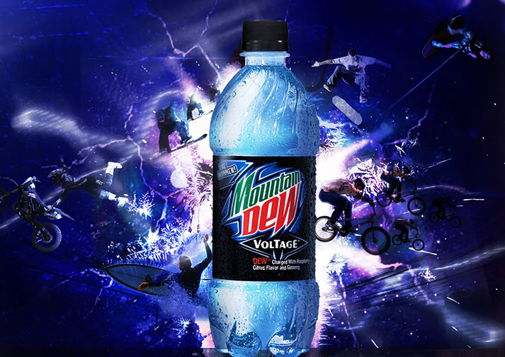 Blue Voltage just doesn't Dew it