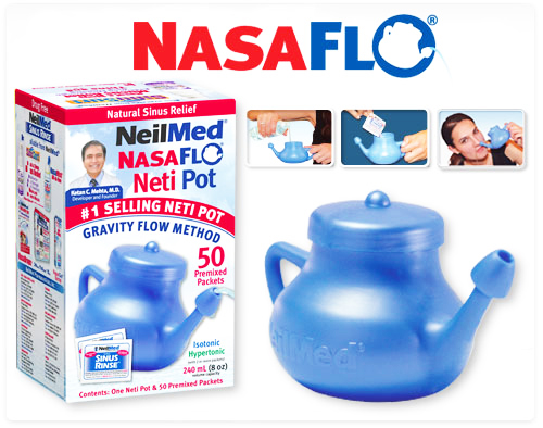 Neti Pot works wonders for nasal congestion
