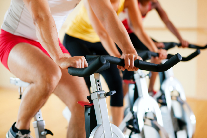 Spin classes on campus day and night