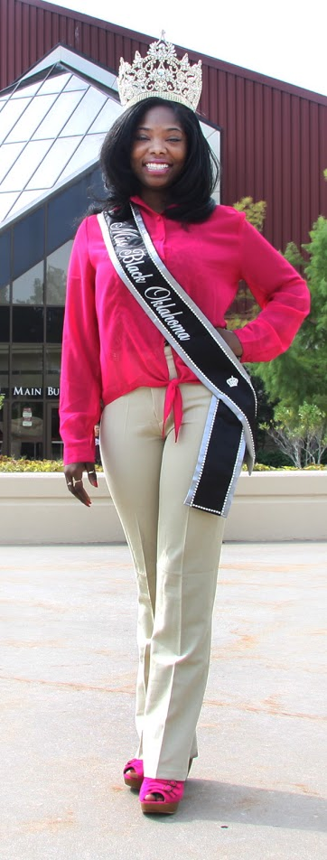 Nursing student claims Miss Black Oklahoma title
