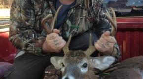 8pt. Buck. Harrah, Oklahoma. 2014