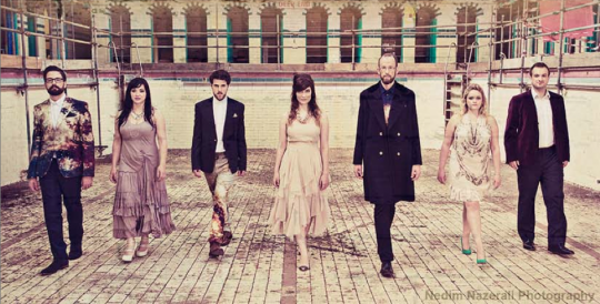 Swingle Singers to take theater stage Oct. 14