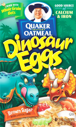 Start the morning with dino eggs