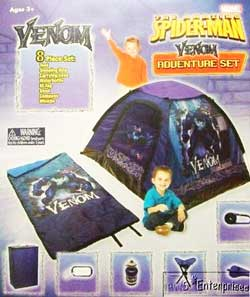 Amazing Spiderman Venom tent