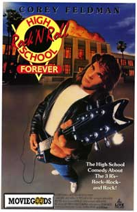 rock-n-roll high school forever poster