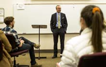 President tells OCCC students 'do what you love'