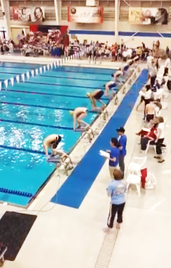 ymca swim meet