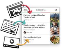 Clickbait-free reading app