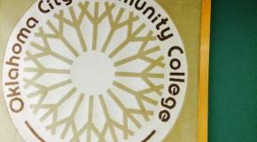 OCCC logo blanket