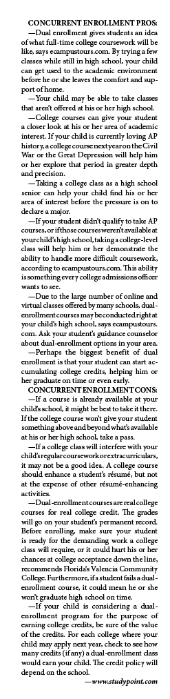 Concurrent enrollment stats