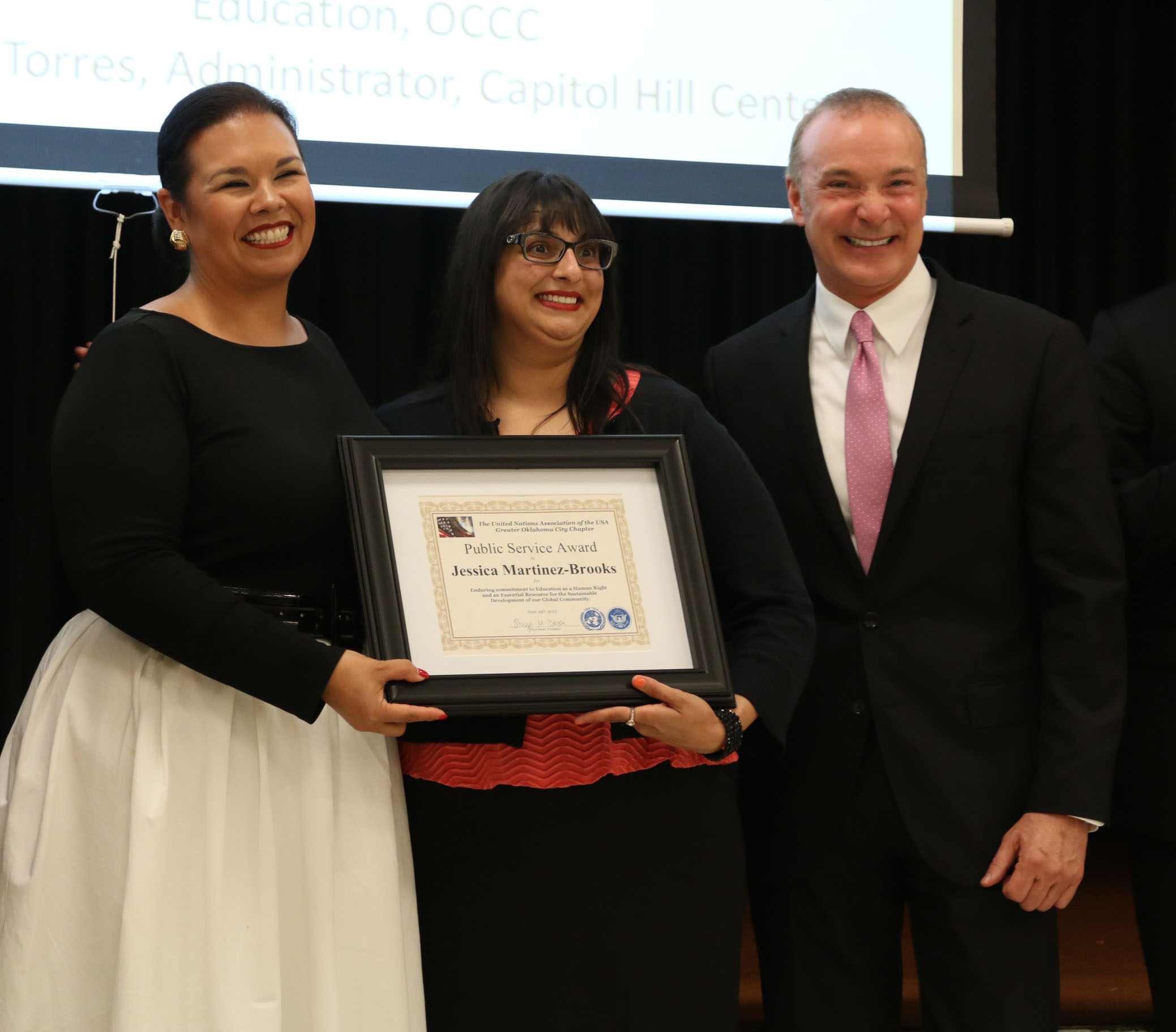 Martinez-Brooks honored for her public service