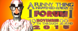 """A Funny Thing Happened on the Way to the Forum"" performace dates"