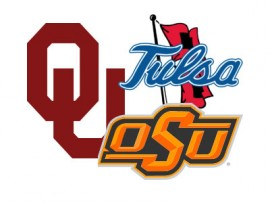 OU OSU Tulas football logos