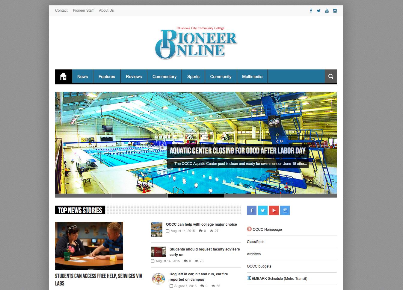 Pioneer Online undergoes major redesign