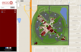 MyWay interactive mapping system