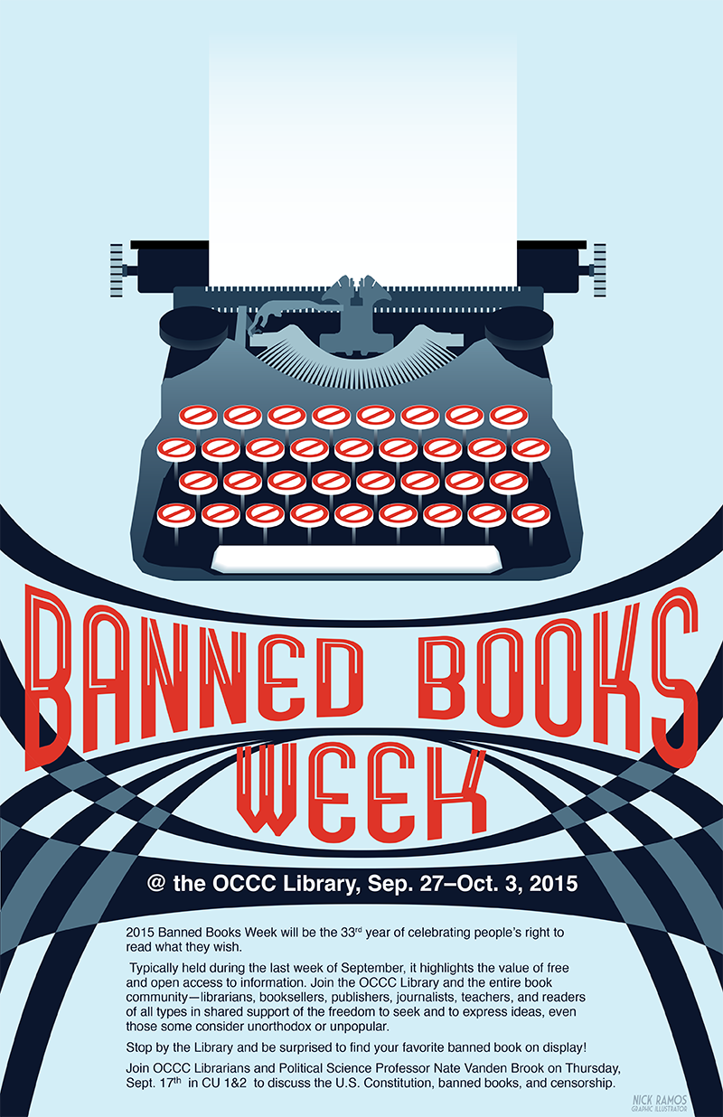 Nick Ramos Banned Book Week 2015