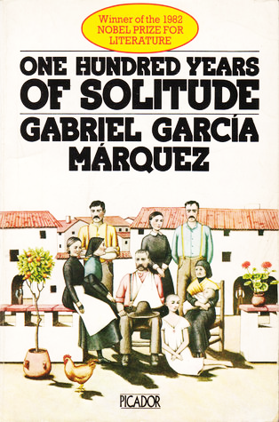 """One Hundred Years of Solitude"" book cover"