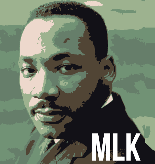 Martin Luther King art