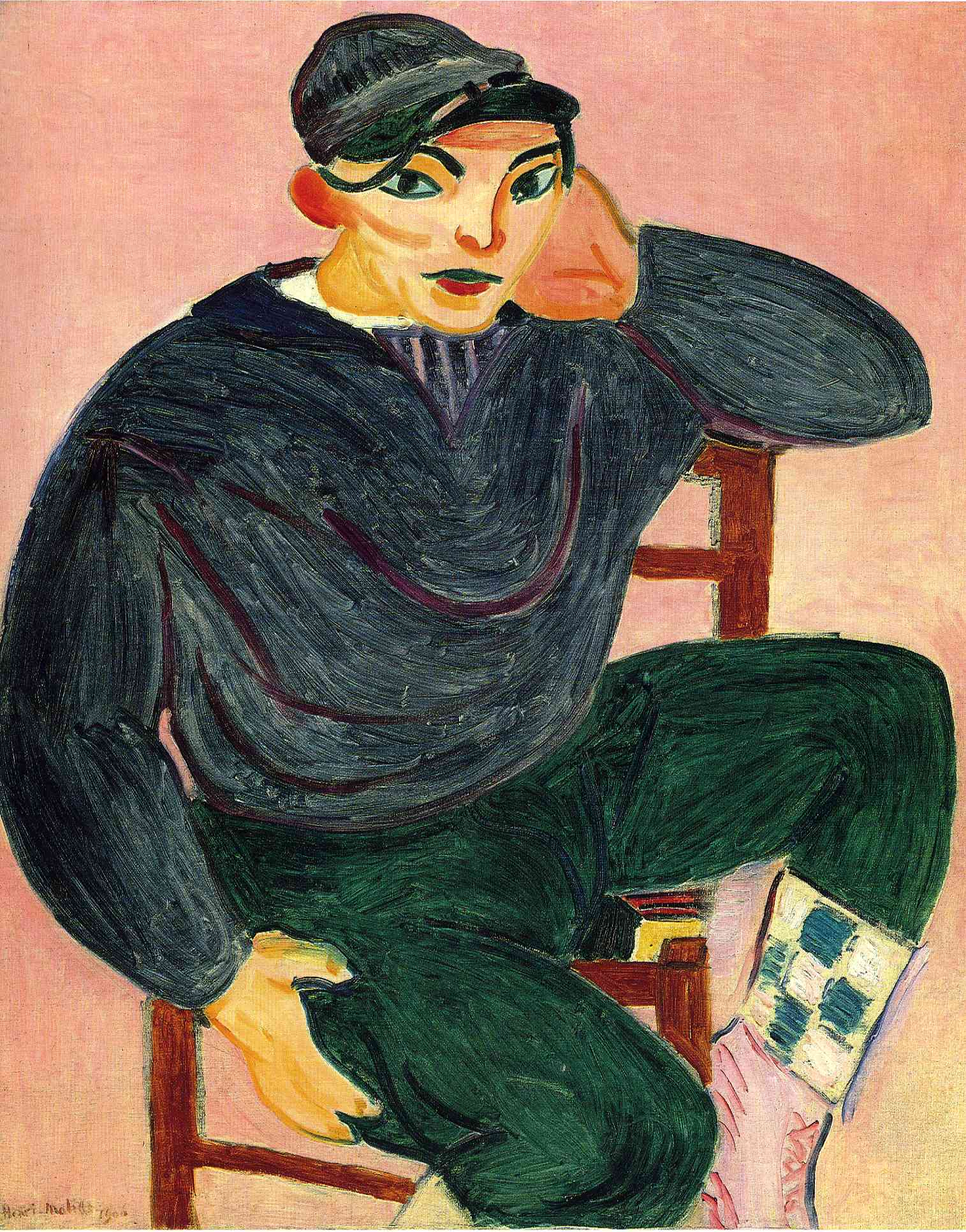 The Young Sailor, Matisse, 1906