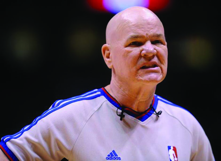 No tears for a bad NBA referee's retirement