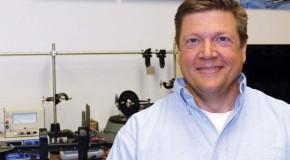 Physics professor, Tad Thurston